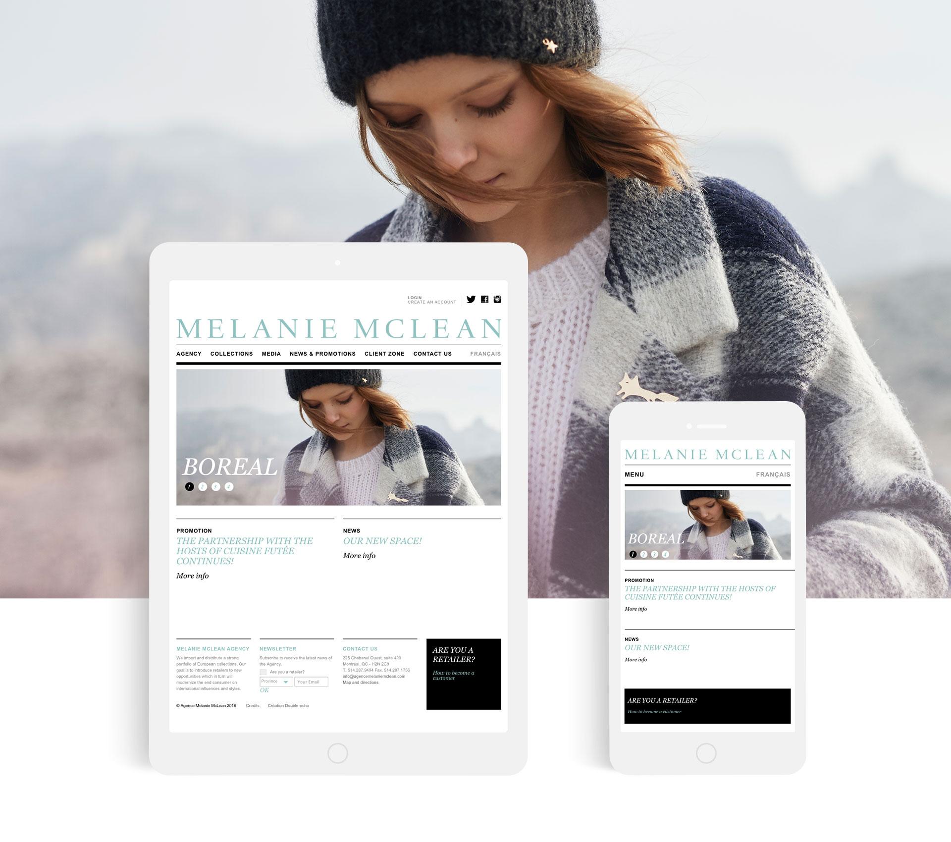 Agence Melanie Mclean