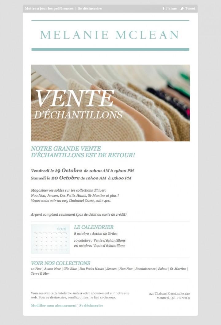 Design Newsletter AMM