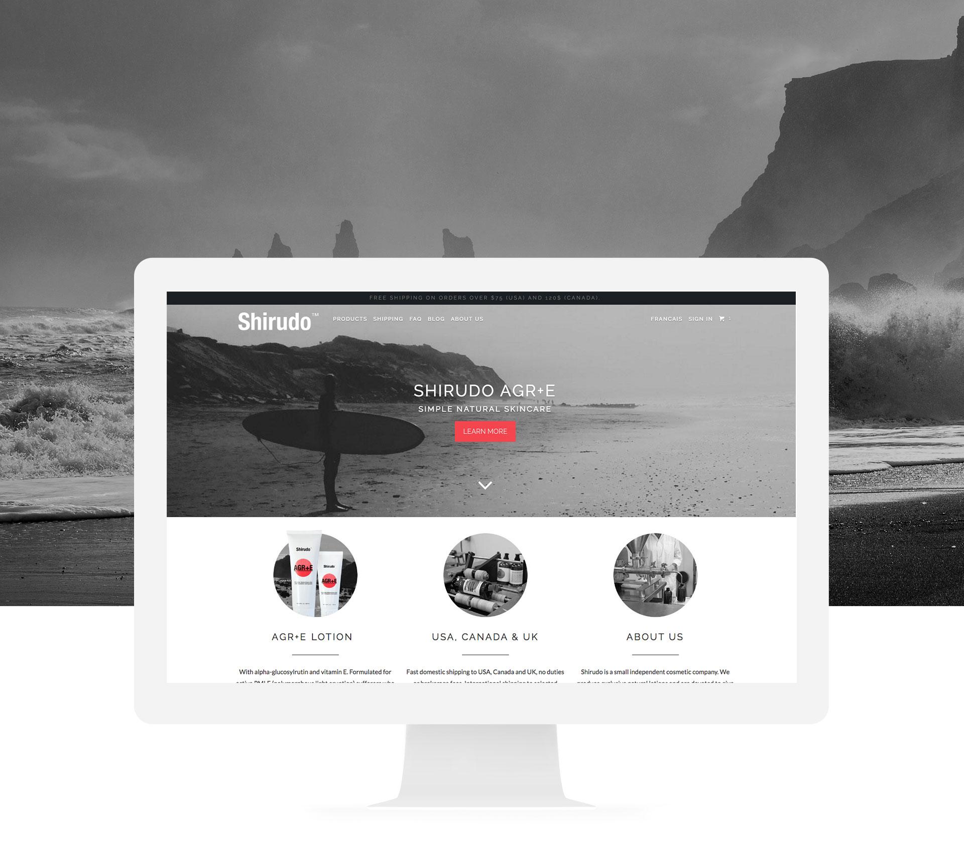 Site web Shirudo